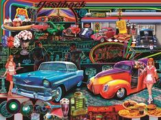 Flashbacks (1000 Piece Puzzle by SunsOut) SIMPLE PASTIMES PUZZLES