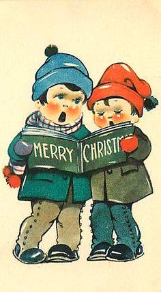 Merry Christmas Carolers