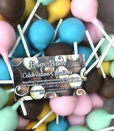 #cakepops #poppin #babyshower #babylove #pastels #neutralgender #babypops #chocolate #vanilla