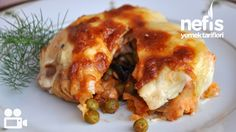 Tavuklu Sultan Kebabı Bulgarian Recipes, Turkish Recipes, Ethnic Recipes, Bulgarian Food, Iftar, Food Tags, Cooking Recipes, Healthy Recipes, Exotic Food