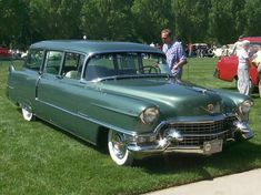 1955 Cadillac Series 62 station wagon, custom built in very limited numbers.