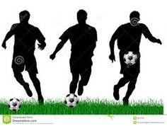 Resultado de imagen para siluetas de futbol