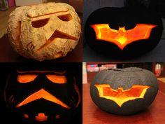 Csináld Magad - Star Wars és Batman töklámpás - DIY pumpkin carving - SZMK