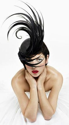 Philip Treacy | Isabella Bow by Miguel Riveriego