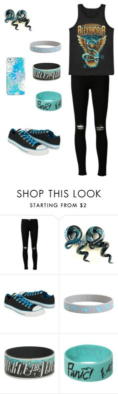 """Untitled #317"" by dark-emo-kitty ❤ liked on Polyvore featuring J Brand, Pyrex, Converse and Vera Bradley"