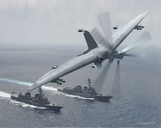 Darpa wants to turn small ships into drone aircraft carriers. (2015)