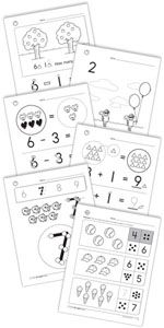 Touch Math Freebies. Some of my low babies might need this come addition and subtraction!