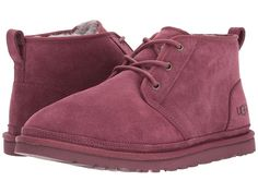 UGG Neumel Men's Lace up casual Shoes Cordovan