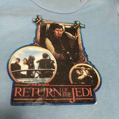 Vintage Star Wars Return Of The Jedi Shirt Kids Size Lg Han Solo Papua New Guinea, Looney Tunes, Ghana, Sri Lanka, Trinidad And Tobago, Vietnam, Star Wars, Han Solo, Stars