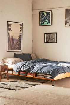 Border Storage Bed (I like that it's minimalist and still with nice storage, but…