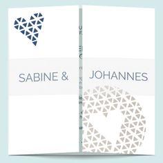 Hochzeitseinladungen: Herzallerliebst Chart, Design, Decor, Beautiful, Geometric Heart, Card Wedding, Invitation Cards, Creative, Round Round