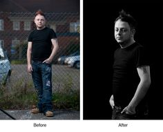 Invisible Black Backdrop - tricks to getting a black backdrop no matter where you are.  Really easy!
