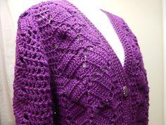 Suéter como tejer la Espalda Crochet