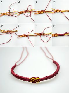 How to make easy friendship bracelets out of Carrick Bend and Alpine Bend – Pandahall