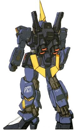 RMS-154 Barzam is a mass produced general purpose mobile suit. It was featured in Mobile Suit Zeta Gundam and the photo-novel Advance of Zeta: The Flag of Titans. Back