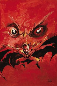 Gene Colan The Tomb of Dracula #4 (Third Series) Cover Painting Original Art (Marvel, 1992) by Aeron Alfrey, via Flickr