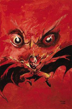 Gene Colan The Tomb of Dracula #4 (Third Series) Cover Painting Original Art (Marvel, 1992) by Aeron Alfrey, via Flickr