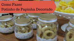 Aprenda a reciclar e decorar potinhos de papinha para utilizar como lembrancinhas em suas festas. É simples e super fácil!! Assista o tutorial...