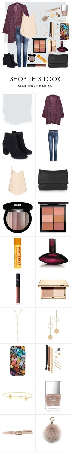 """I've got time"" by rachgrizz ❤ liked on Polyvore featuring Great Plains, Monsoon, Alice + Olivia, Topshop, Edward Bess, MAC Cosmetics, Burt's Bees, Calvin Klein, NARS Cosmetics and Clarins"