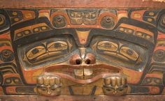 Charles Edenshaw (1839-1920), Bentwood Chest, ca. 1870. (Canadian Museum of Civilization Collection).