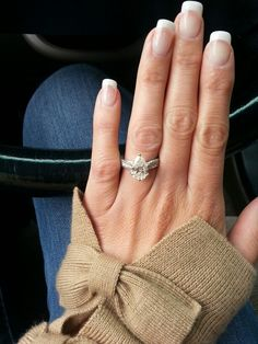 Engagement ring. #pearshape #engagement ring
