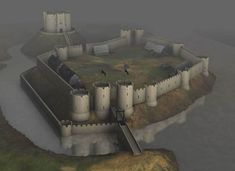 York Castle c1244 / Brief history of York