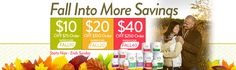 #Fall into more savings! Save big on all your favorite #HallelujahDiet products here: http://www.myhdiet.com/shop/