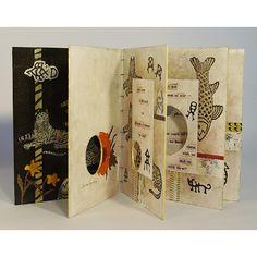 I like this. It's like a really cool pamphlet. Bay Area Book Artists - Lark Burkhart