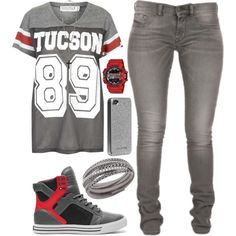 Untitled #128 by lo-mackenzie on Polyvore featuring Project Social T, Supra, G-Shock, Swarovski, Forever 21 and Case-Mate
