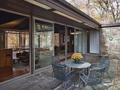 Famed architect Richard Neutra's designed the Pitcairn House, which is now on the market.