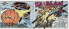 The hobgoblin strikes. From Amazing Spider-Man #239