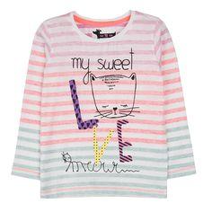 Cool club, t-shirt dziewczęcy z długim rękawem - T-shirty - Moda dziecięca