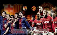 Barcelona vs Manchester United 2012-2013 HD Best Wallpapers