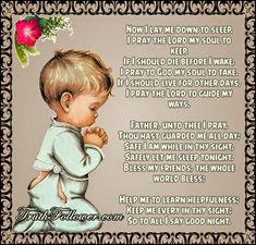 I Pray the Lord my soul to keep , Night Prayers Before Sleep Childrens Bedtime Prayer, Bedtime Prayers For Kids, Prayers For Children, Prayer Before Sleep, Sleep Prayer, Bible Words Images, Prayer Images, Goodnight Quotes Inspirational, Inspirational Prayers