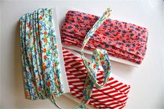 """Bias Tape.What is it?  What is it used for?  What the heck does """"bias"""" mean?  And how can you make your own?"""