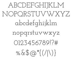 Free web fonts Josefin Slab