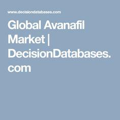 Global Avanafil Market   DecisionDatabases.com Marketing