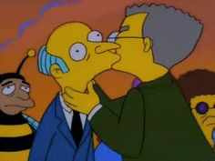 Smithers Comes Out to Mr. Burns In Next Simpsons Episode Simpsons Episodes, Simpsons Cartoon, Cartoon Gifs, Homer Simpson, Classic Cartoons, Character Design, Lgbt, Avatar, Anime Characters