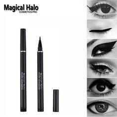 Magical Halo Waterproof/Sweatproof Black Liquid Eyeliner