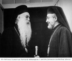 Archbishop Iakovos and Patriarch Athenagoras I