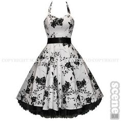I want this and I want to wear red heels and pose in the kitchen with a pie by my face. hahahaha, i really do like the dress.