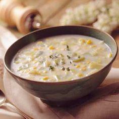 Roasted Garlic Barley Soup