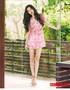 f(x) Sulli - Cosmopolitan Magazine June Issue '15