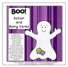 Boo! Verb Freebie!