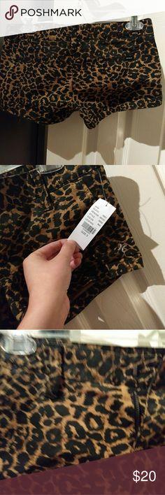 Hurley leopard shorts Leopard Hurley shorts from pacsun Hurley Shorts Jean Shorts