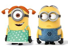 minions // despicable me. Just looking at them makes me laugh.