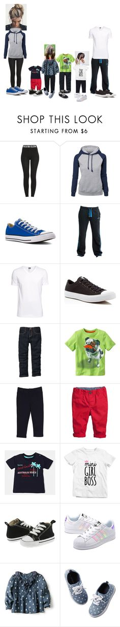 """""""Avah and Ethan taking care of the kids"""" by cottencandy2004 ❤ liked on Polyvore featuring Calvin Klein, Converse, Soul Cal, H&M, Splendid, adidas Originals, Carter's and Zara"""