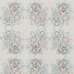 Pattern #:15622-19 Pattern Name: WHITTAKER, AQUA Book #2935 - Prussian, Spruce: Tilton Fenwick Collection