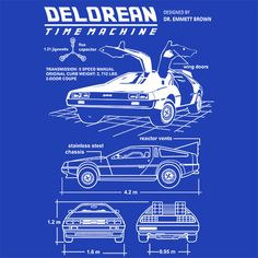 Blueprint art google search art inspiration pinterest time machine blueprint back to the future malvernweather Choice Image