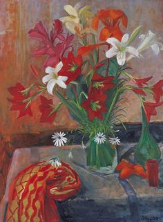 Paintings - Margaret Hannah Olley - Page 3 - Australian Art Auction Records Art Painting, Botanical Art, Australian Art, Floral Art, Painting, Flowers In Vase Painting, Art, Australian Painters, Beautiful Art